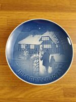 1973 Bing & Grondahl B&G Country Christmas plate 7 inch #d 9073