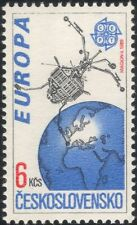 "Czechoslovakia 1991 Europa/Space/""Magion 2""/Satellite/Science 1v (n44805)"