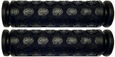 KAWASAKI JET SKI 300 440 550 650 SX JS PWC BLACK THICK SKULL HANDLEBAR GEL GRIPS