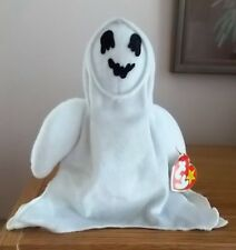 TY BEANIE BABIES SHEETS THE GHOST BORN 1999 RETIRED 1999 WITH TAG
