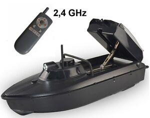 RC Futterboot Köderboot Baitboat V3 2,4 GHz inkl 2x Akkupack 2kg Zuladung