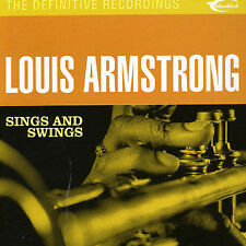 Sings and Swings by Louis Armstrong (CD, Apr-2003, Camden)