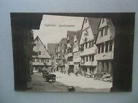 Ansichtskarte Heilbronn um 1910?? Schwibbogengasse