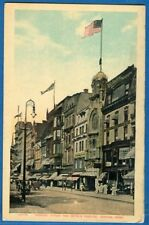 Tremont Street And Keith's Theatre, Boston, Massachusetts - Early Postcard