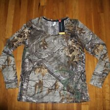 Under Armour Threadborne Early Season Realtree Camo Shirt Women's XL 1298753-946