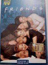 DVD Film Friends Le grandi serie Tv Sorrisi e Canzoni Stagione 3 Episodi 19-25