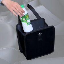 Zone Tech Car Waste Leakproof Trash Can Holder Litter Bin Storage Bag Organizer