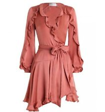 ZIMMERMANN | Sz 0 Aus 8 | Winsome Flutter Robe Dress | Guava
