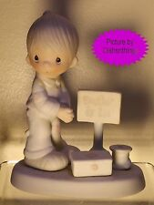 Enesco PRECIOUS MOMENTS Lord Give Me Patience E-7159 MINT!
