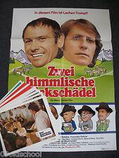 Zwei Himmlische Dickschädel 19 AUSHANGFOTOS+Plakat A1 Don Camillo & Peppone Baye