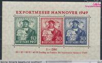 Bizone (Alliierte Besetzung) Block1a postfrisch 1949 Hannovermesse (8609898