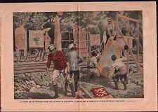 Advertising Publicity Pub Railway Japan Russo-Japanese War 1905 ILLUSTRATION