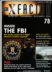 THE X FACTOR Paranormal Science Magazine Issue 78 - Inside The FBI