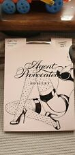 Agent provocateur champagne purple Polka Dot Contrast stockings