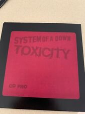 SYSTEM OF A DOWN - TOXICITY - RARE AUSTRALIAN PROMO CD - VGOOD COND