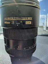 Nikon Zoom-NIKKOR 17-55mm f/2.8 DX G SWM AF-S IF M/A ED Lens