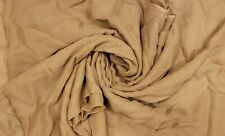 "Tan Silk Chiffon fabric, 2 yd 30"" L 44"" W"