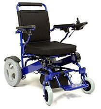 FoldAscoot Foldable Powered Wheelchair Motorized Color Blue