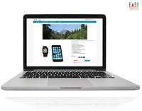 BAYVORLAGE Template 2021 responsive Auktionsvorlage Aqua Plus + Online-Editor