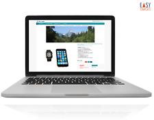 EBAYVORLAGE Template 2020 responsive Auktionsvorlage Aqua Plus + Online-Editor