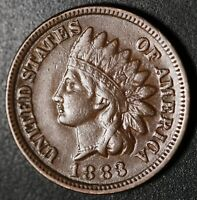 1883 INDIAN HEAD CENT - With LIBERTY - VF VERY FINE