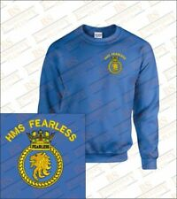 Embroidered HMS Fearless Sweatshirts