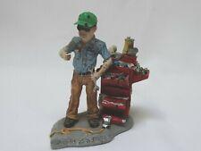 "New Listing1997 Foxfire Farm Figure Lowell Davis She's Fit As A Fiddle 0158Pt 5 1/2"" h"
