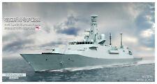 EV resin kit 1/700 HMS Type 26 City-class Frigate Glasgow (S031)