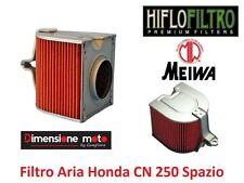 1204 - Filtro Aria HIFLOFILTRO-MEIWA tipo originale per HONDA CN 250 Helix