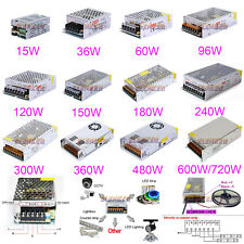DC 12V 3A to 50A Amp 110V 220V Power Supply LED Strip Light 12 V Volt 110 AC 220