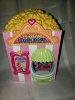 My Little Pony Ponyville Popcorn Movie Theater Playset Pink Opens with Figure
