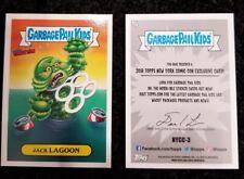 NYCC 2018 exclusive JACK LAGOON card promo TOPPS Garbage Pail Kids GPK