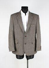 Lapidus The Tweed Herringbone Elbow Patched Men Jacket Blazer Size EU48 UK38, G