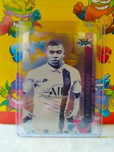 KYLIAN MBAPPE UCL MASTER TOPPS CRYSTAL 2019-20 💵🇫🇷🇪🇸💵🏆🏆💵🇪🇸🇫🇷💵