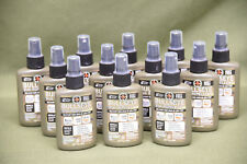 Lot of 12 Military USGI Bullseye Mosquitoes Bug Repellent DEET FREE 8 Hour Spray