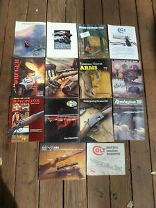 13 Gun Catalogs 1989 Savage, Colt, S&W, Marlin, Thompson, Ruger, Leupold & Other