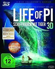 Life of Pi - Schiffbruch mit Tiger 3D [Blu-ray 3D] [... | DVD | Zustand sehr gut