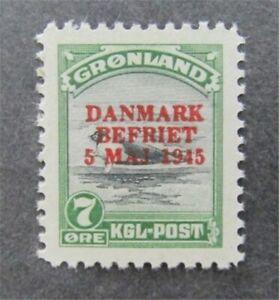 nystamps Greenland Stamp # 21 Mint OG NH $70   Y14y272