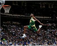 "Shawn Kemp Seattle Supersonics Unsigned 1991 Slam Dunk Contest 11"" x 14"" Photo"