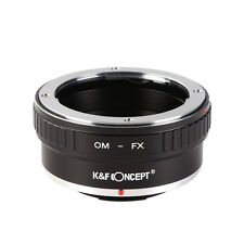 K&F Concept Adapter for Olymous OM Mount Lens to Fujifilm X-Pro1 X-A2 X-E1 X-T1