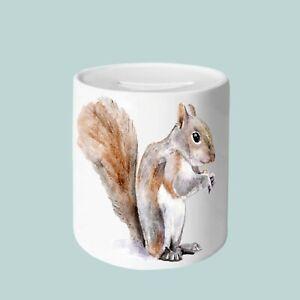 Squirrel Money Box, 11oz Money Box, gifts for everyone, Animal