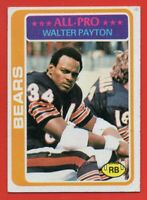 1978 Topps #200 Walter Payton EX-EX+ Hall of Fame Chicago Bears FREE SHIPPING