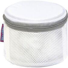 "Woolite Bra Wash Bag Mesh Laundry Sanitized Antimicrobial 6.25"" W x 4"" H"