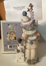 "LLADRO #5279 - ""PIERROT WITH CONCERTINA"" - Retired 2007 - MIB SIGNED By Lladro"