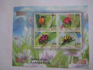 Beautiful 2017 India Miniature Sheet on Ladybird Beetle-MNH Limited Edition