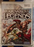 Tournament of Legends Sega Fighter Nintendo Wii / Wii U Tested Works Complete