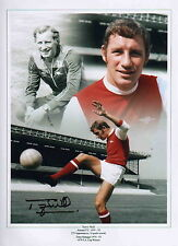 """Arsenal Fc-12x16"""" Montage Photograph Hand Signed by Terry Neill-Aftal/Uacc"""