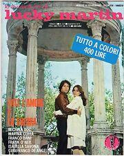 fotoromanzo LE AVVENTURE DI LUCKY MARTIN ANNO 1977 NUMERO 107 DANI COFFA SAVONA