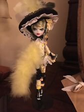Ooak Saloon doll, Monster Doll Repaint. Gorgeous