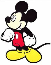 "6""X9"" layer paper Die Cut Out - Mickey Mouse clubhouse banner sign Disney theme"
